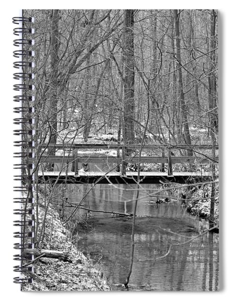 Hidden Bridge Spiral Notebook