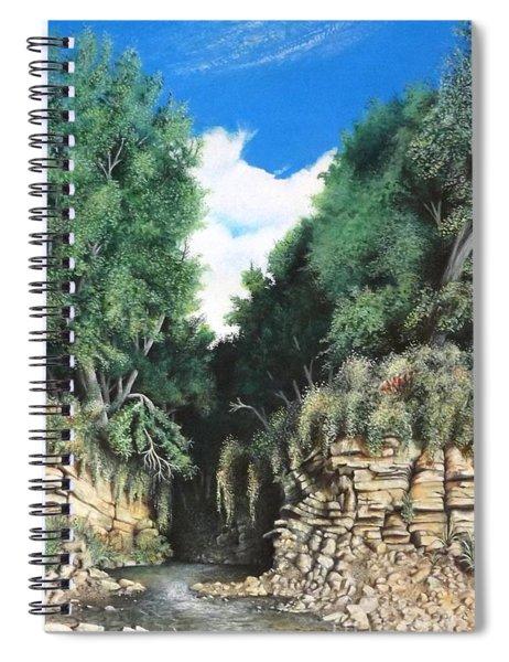Hidden Canyon Spiral Notebook