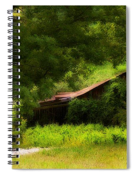 Hidden Down The Road Spiral Notebook