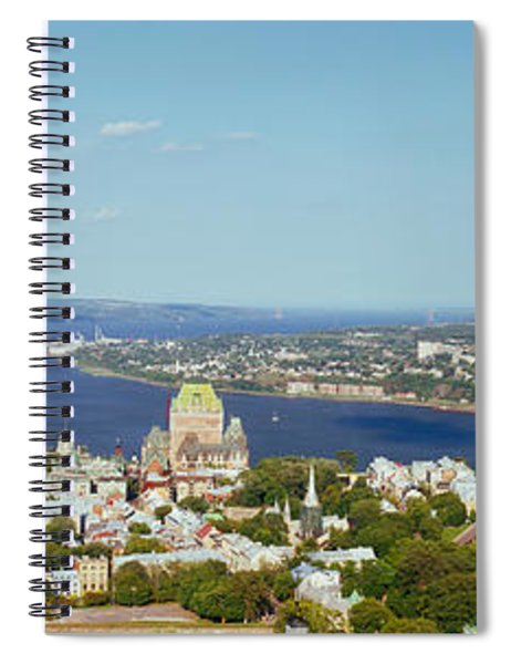 High Angle View Of A Cityscape, Chateau Spiral Notebook