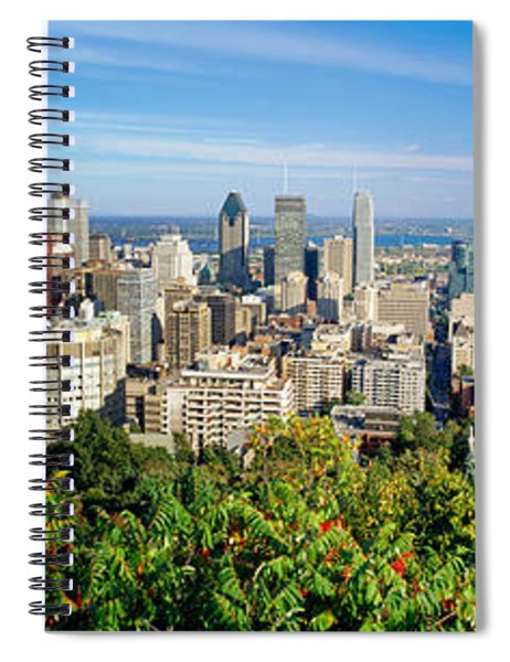 High Angle View Of A Cityscape, Parc Spiral Notebook