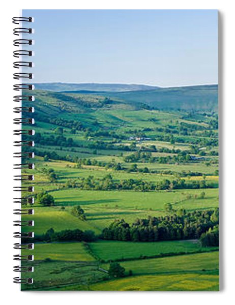 High Angle View Of A Landscape, Hope Spiral Notebook