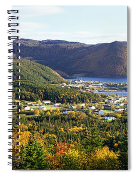 High Angle View Of Norris Point Spiral Notebook