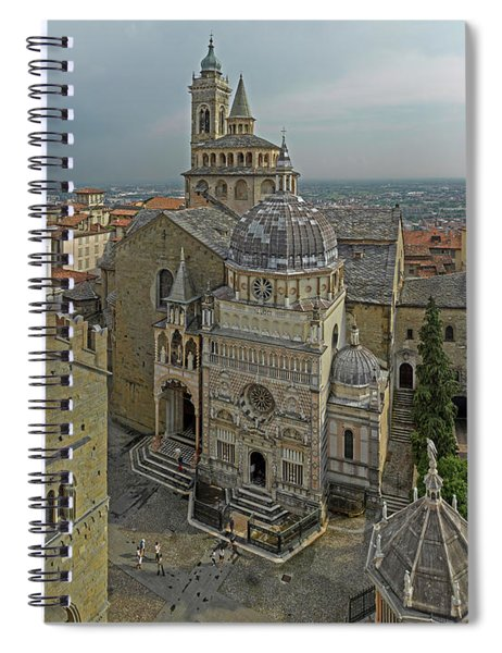High Angle View Of The Basilica Di Spiral Notebook
