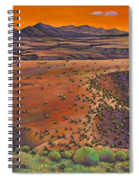 High Desert Evening Spiral Notebook