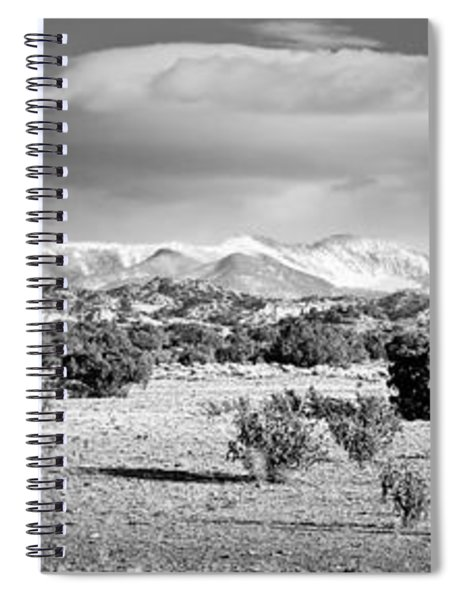 High Desert Plains Landscape Spiral Notebook
