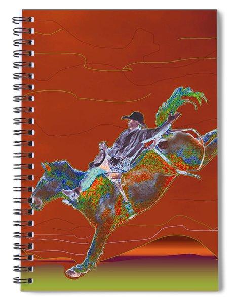 High Riding Spiral Notebook