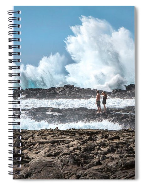 In Over Their Heads Spiral Notebook