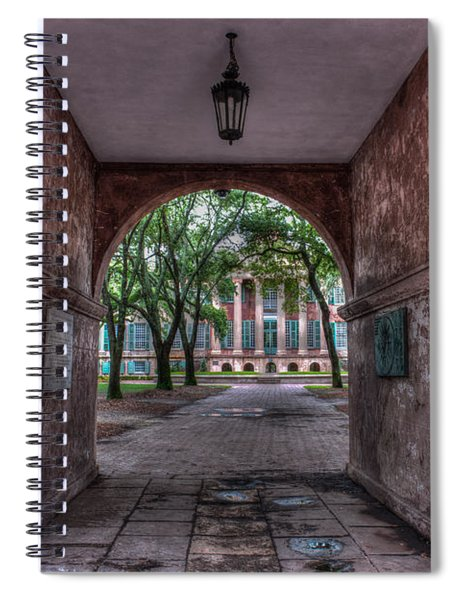 Higher Education Tunnel Spiral Notebook