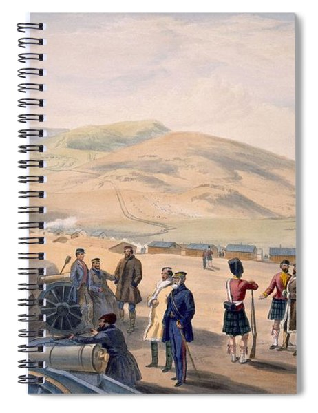 Highland Brigade Camp, Plate From The Spiral Notebook
