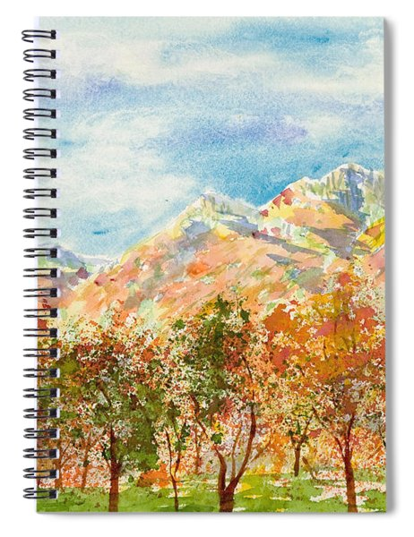 Highlands Autumn Spiral Notebook