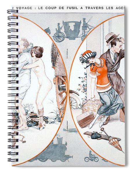 Highway Robbery, 1922 Spiral Notebook