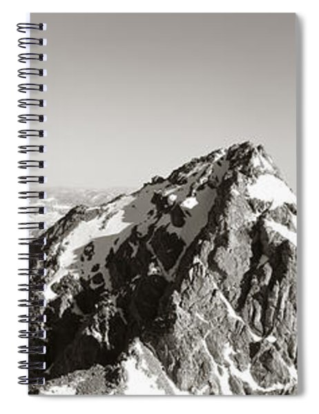 Hiker, Grand Teton Park, Wyoming, Usa Spiral Notebook by Panoramic Images