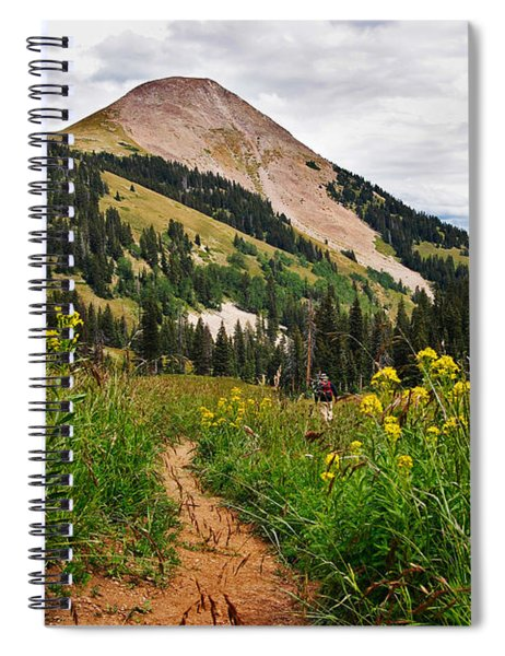 Hiking In La Sal Spiral Notebook