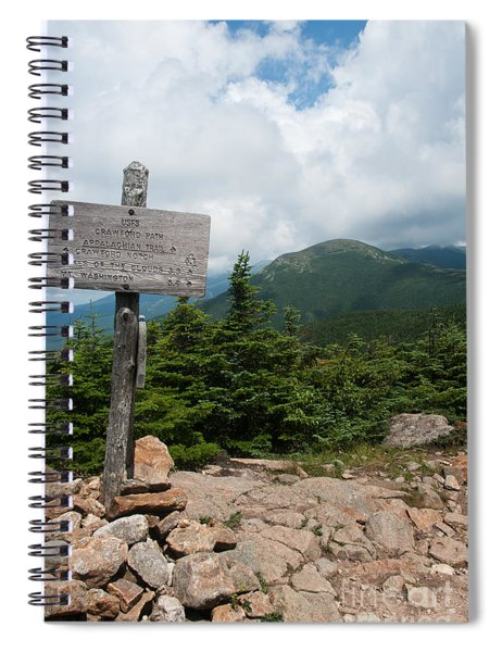 Hiking The Whites Spiral Notebook