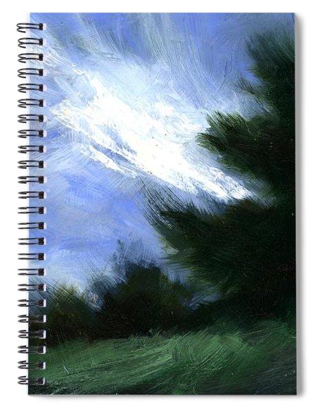 Hillside Breeze Spiral Notebook
