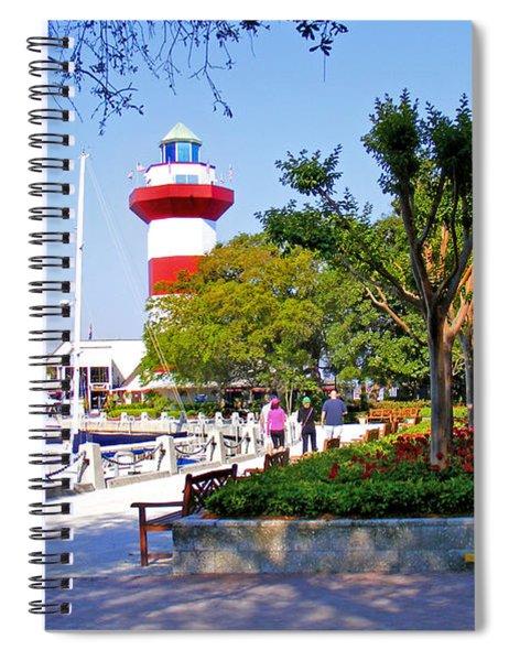 Hilton Head Lighthouse Spiral Notebook