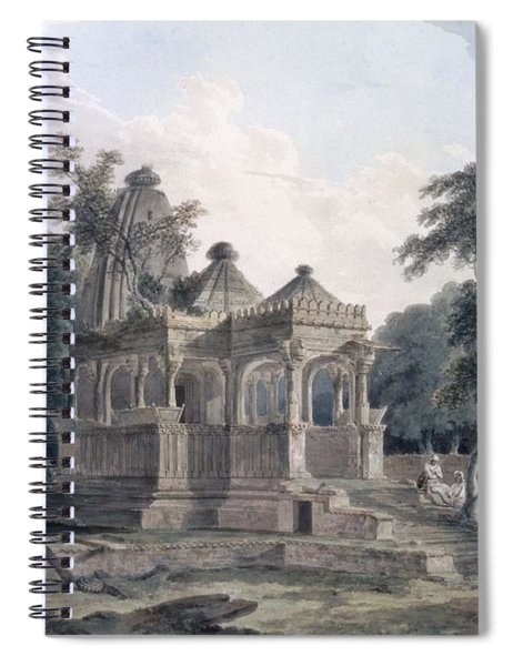 Hindu Temple In The Fort Of The Rohtas Spiral Notebook