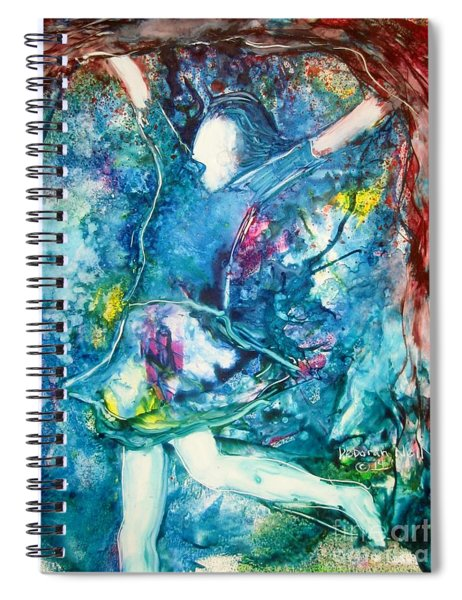 His Banner Over Me Is Love Spiral Notebook