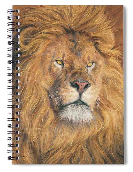 His Majesty - Detail Spiral Notebook