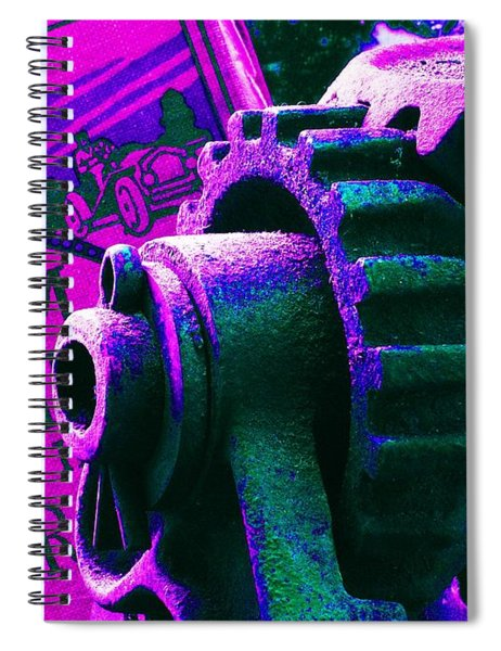 His Sky Racer... Spiral Notebook