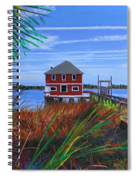 Historic Ormond Boathouse Spiral Notebook