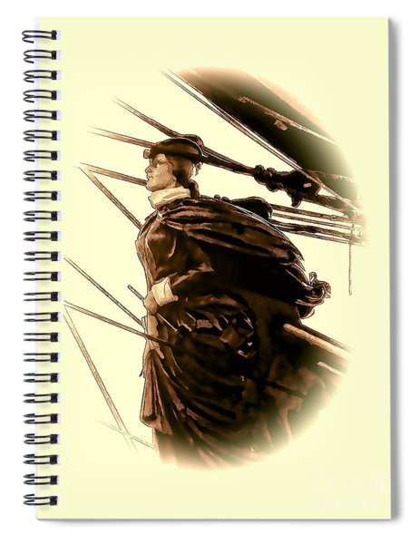Hms Bounty - Lost At Sea  Spiral Notebook