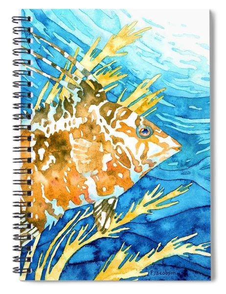 Hogfish Portrait Spiral Notebook