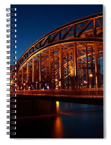 Hohenzollern Bridge Spiral Notebook