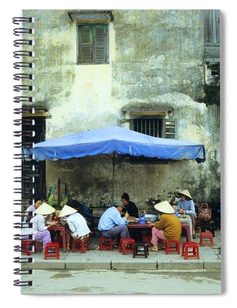 Hoi An Noodle Stall 02 Spiral Notebook