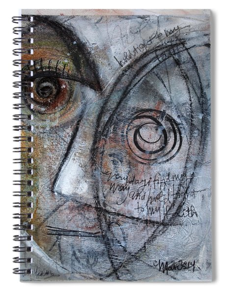 Hold Tight To My Faith Spiral Notebook
