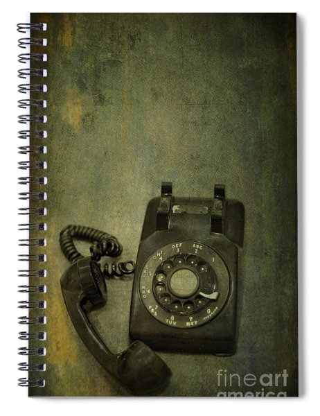 Holding On To Yesterday Spiral Notebook