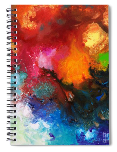 Holding The High Watch Canvas Three Spiral Notebook
