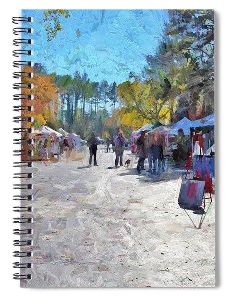 Holiday Market Spiral Notebook