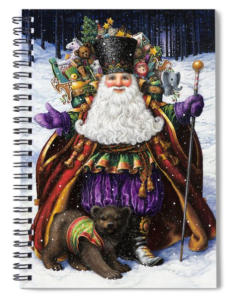 Holiday Riches Spiral Notebook