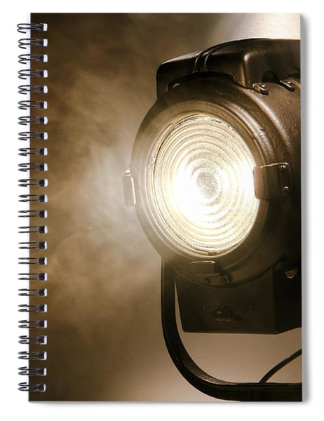 Hollywood Spiral Notebook by Olivier Le Queinec