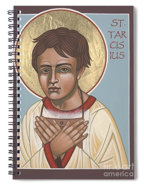 Holy Martyr St. Tarcisius Patron Of Altar Servers 271 Spiral Notebook