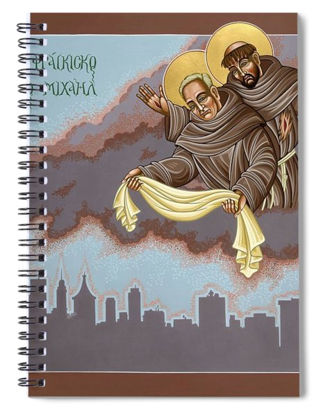 Holy Passion Bearer Mychal Judge 132 Spiral Notebook