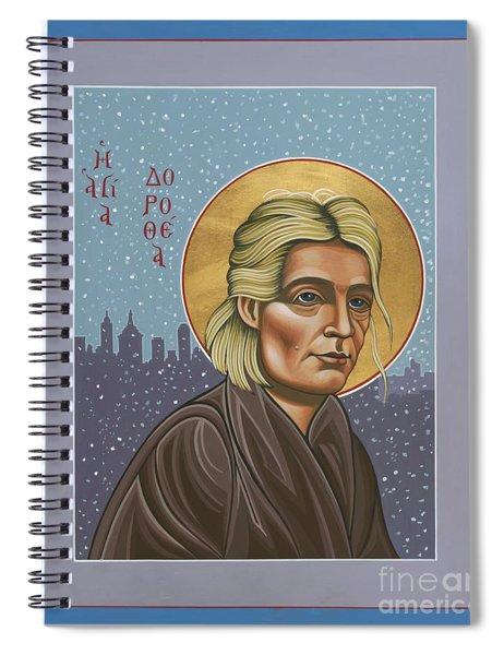 Holy Prophet Dorothy Day 154 Spiral Notebook