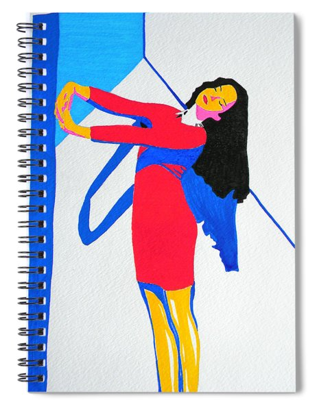 Homage To Carven Spiral Notebook