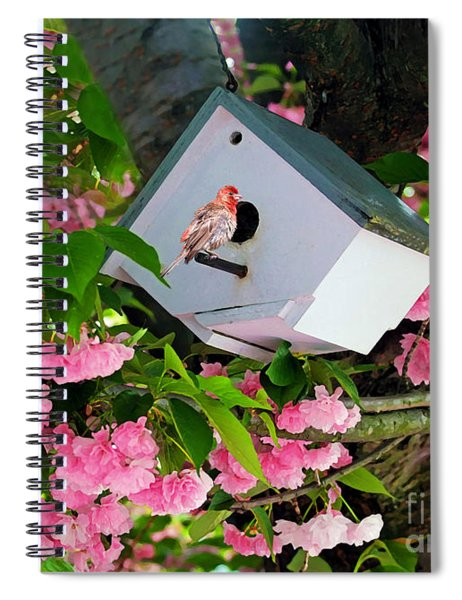 Home And Garden Spiral Notebook