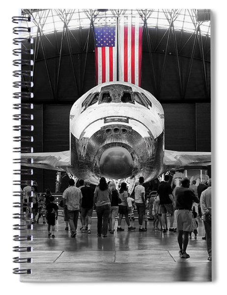 Spiral Notebook featuring the photograph Home At Last by Jim Thompson