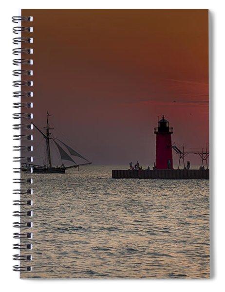 Home Bound Spiral Notebook
