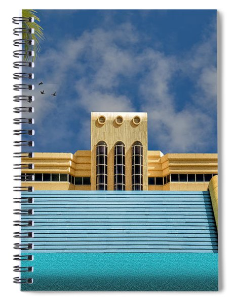 Home For The Winter Spiral Notebook