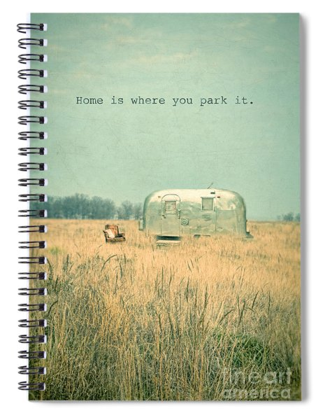 Home Is... Spiral Notebook