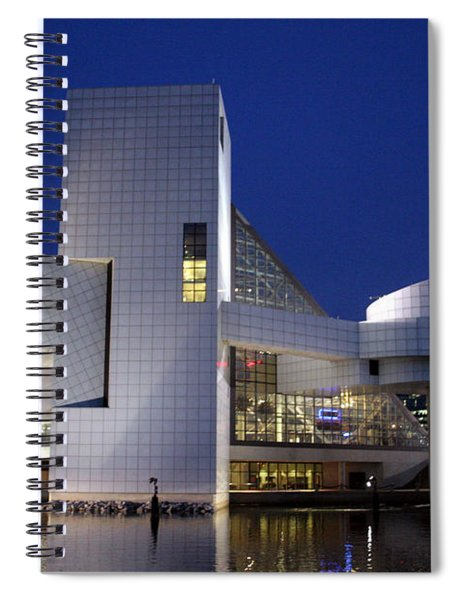 Home Of Rock 'n Roll Spiral Notebook