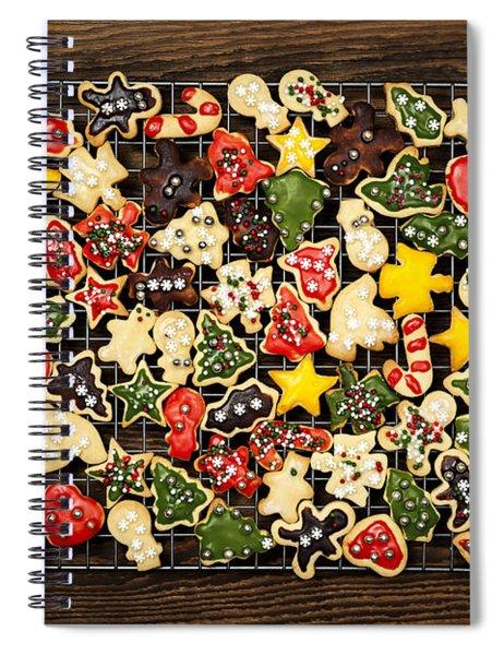 Homemade Christmas Cookies Spiral Notebook