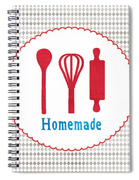 Homemade Spiral Notebook