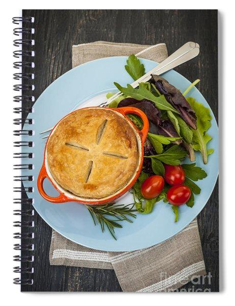 Homemade Potpie Spiral Notebook