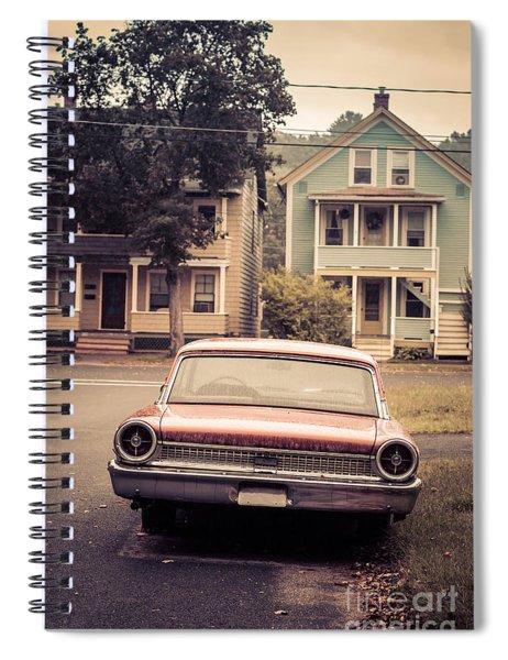 Hometown Usa Spiral Notebook